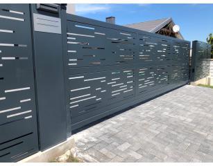 Metalinės tvoros LASER CUT