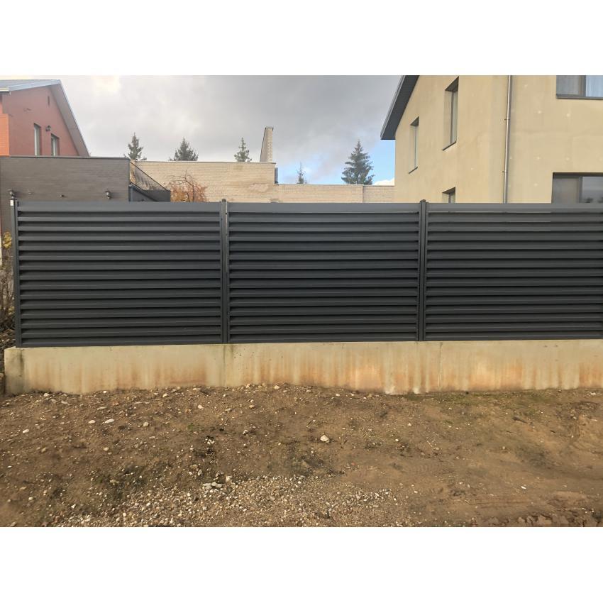 Skardinė Žaliuzi tvora