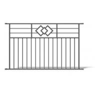 Metalinės tvoros DECORATIVE